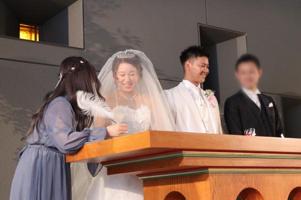 新潟市結婚式場ブライダルステージデュオ 人前式