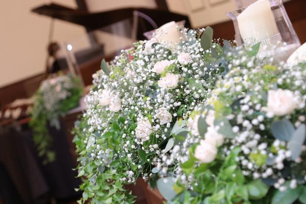 新潟市結婚式場ブライダルステージデュオ 装花