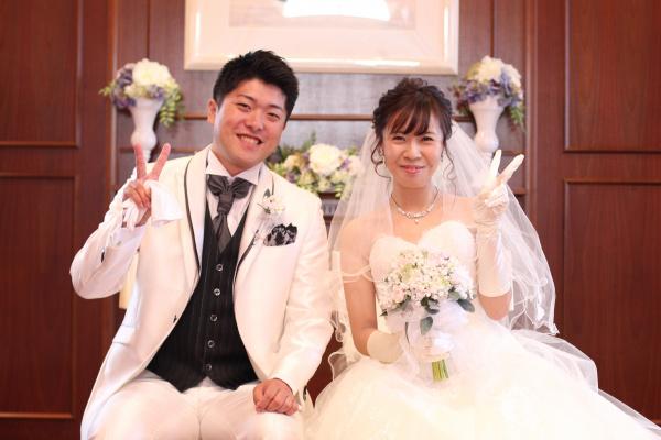 新潟市結婚式場ブライダルステージデュオ チャペル 新郎新婦