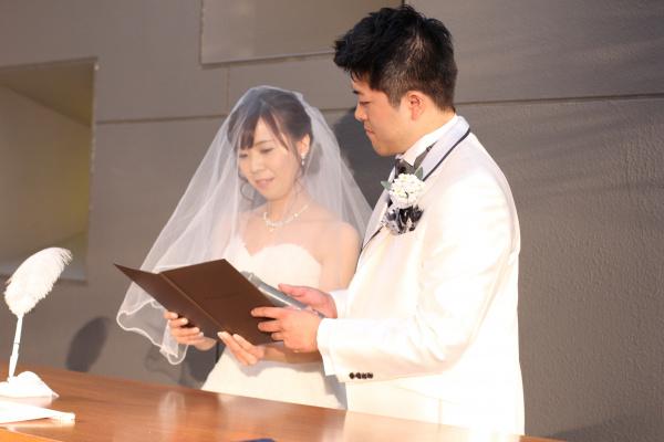 新潟市結婚式場ブライダルステージデュオ チャペル 人前式