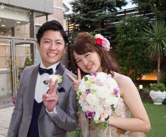 【デュオ花✿ウエディングレポート】おふたりの笑顔がまぶしい!ロマンチックなウエディング♪~披露宴パーティー編~