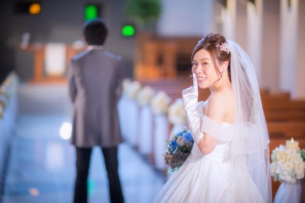 新潟市結婚式場ブライダルステージデュオ 前撮り チャペル