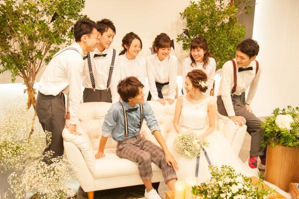 新潟市結婚式場ブライダルステージデュオ ソファ パーティー