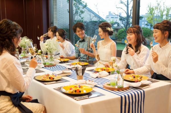 新潟市結婚式場ブライダルステージデュオ 会食