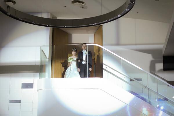 新潟市結婚式場ブライダルステージデュオ 披露宴 お色直し入場