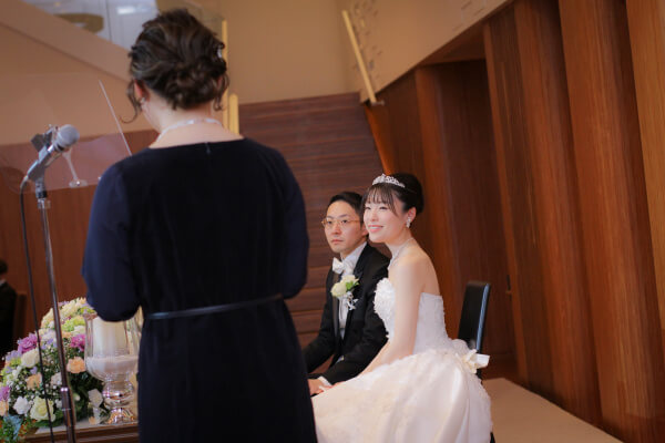 新潟市結婚式場ブライダルステージデュオ 披露宴 友人スピーチ